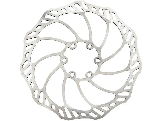 Rotor Uno remschijf zilver